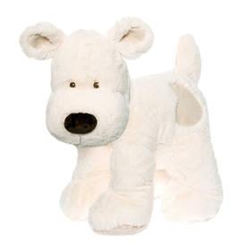 Teddykompaniet Cream Koira Pehmolelu XL, Valkoinen