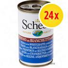 Säästöpakkaus: Schesir 24 x 140 g - tonnikala hyytelössä
