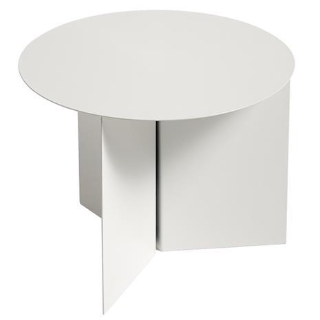 Hay Slit pöytä pyöreä, valkoinen