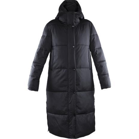 Everest W LONG QUILT COAT BLACK
