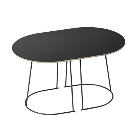 Muuto Airy sohvapöytä, pieni, musta