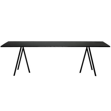 Hay Loop Stand pöytä 200 cm, musta