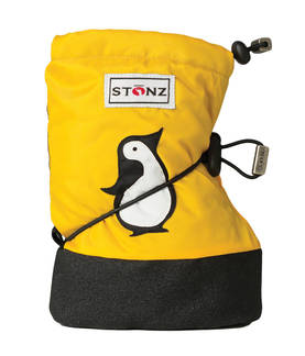 Stonz Booties Penguin Yellow Plus Töppöset M
