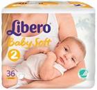Libero vaippa Newborn 2, 3-6 kg 36 kpl