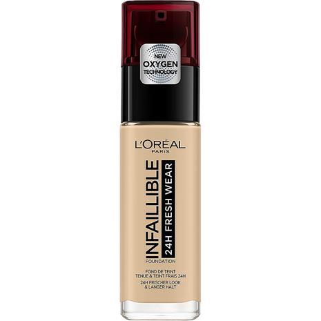 L'Oréal Paris Infallible 24h Stay Fresh Foundation - Linen 30 ml