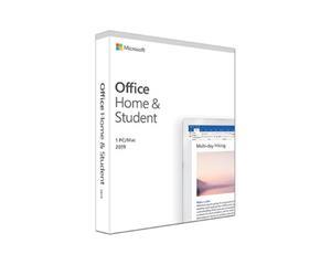 Microsoft Office Home & Student 2019, ohjelmisto