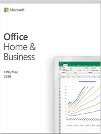 Microsoft Office Home & Business 2019, ohjelmisto