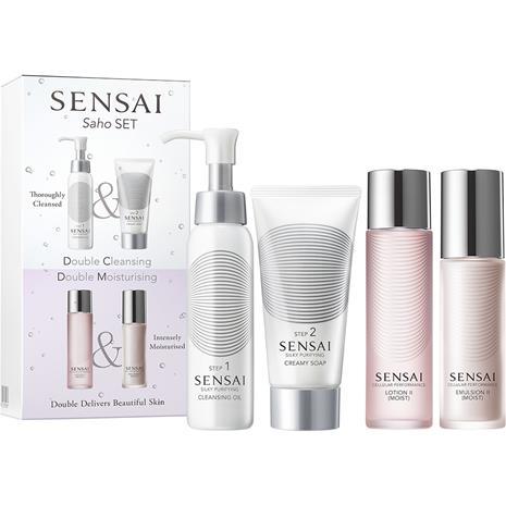 Sensai Saho Set (Double Cleansing, Double Moisturising)