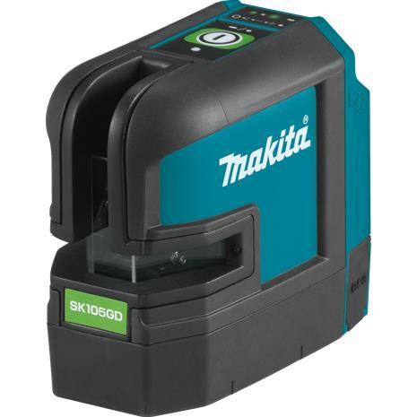 Makita SK105GDZ CXT 10,8V, ristiviivalaser vihreä