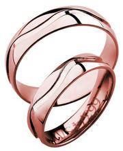parhaiten rakastettu Viimeisin muoti aika halpaa 3D Gold 663-5,5 punakultainen sormus