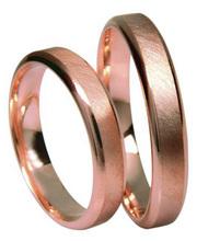 lenkkitossut uusi saapuu nauhoittaa sisään 3D Gold 631-4 punakultainen sormus