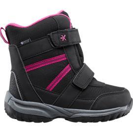 Everest K WINTER HIGH BOOT BLACK/CERISE