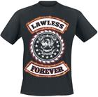 W.A.S.P. Lawless Forever T-paita musta
