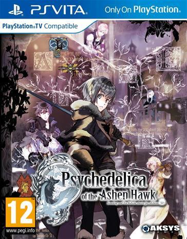 Psychedelica Of The Ashen Hawk, PS Vita -peli