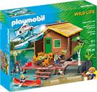 Playmobil Wild Life 9320, Mökki järven rannalla