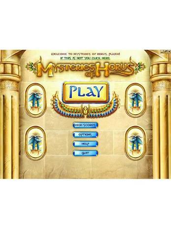 Mysteries Of Horus, PC -peli