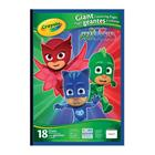 Giant Colouring Pages with Stickers, PJ Masks