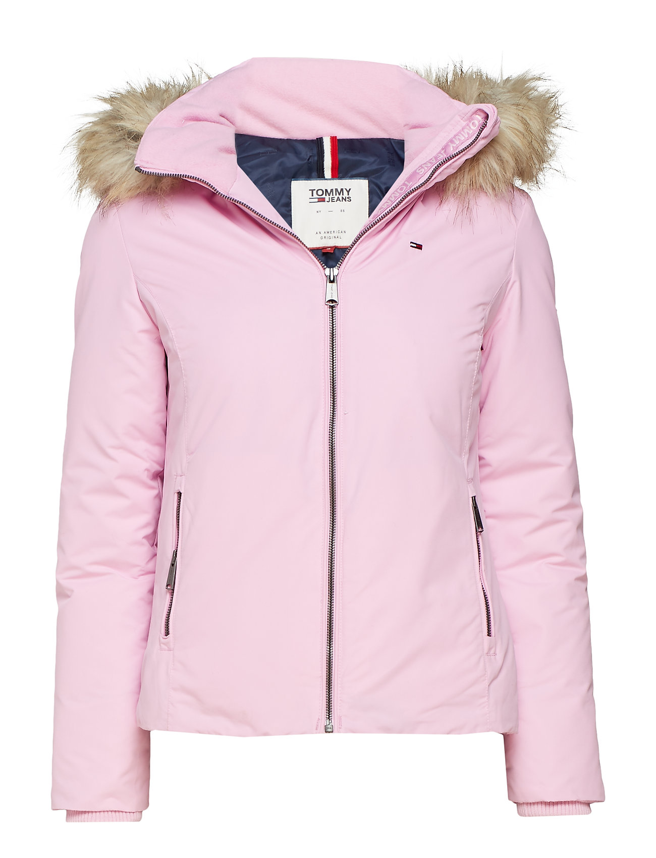 Tommy Jeans Tjw Hooded Down Jacket LILAC CHIFFON 4d31752211