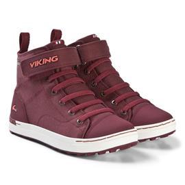 Viking Skien MID GTX Tennarit, Wine/Coral 33