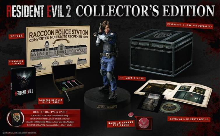 Resident Evil 2 Collector's Edition, Xbox One -peli