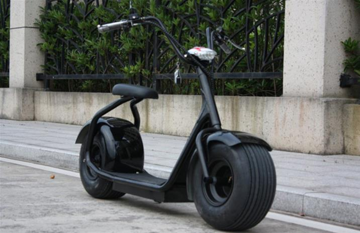 OBG Rides 2000w 12ah, sähköskootteri