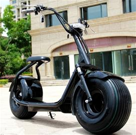OBG Rides 2000w 20ah iskunvaimentimilla, sähköskootteri