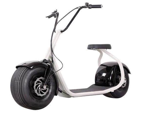 OBG Rides Elscooter 2000w 20ah Vit
