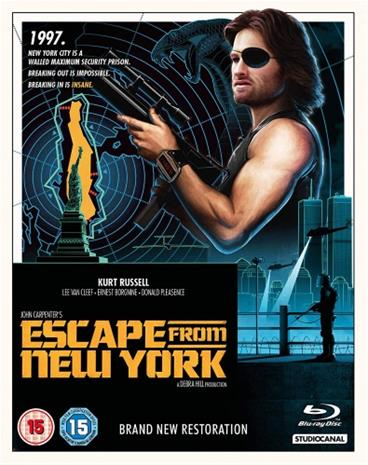 Pako New Yorkista (Escape From New York, Blu-ray), elokuva