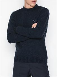 Fred Perry Tipped C/N Jumper Puserot Indigo