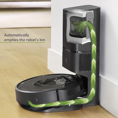 iRobot Roomba i7+, robotti-imuri