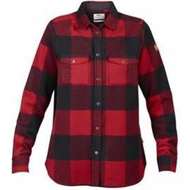 Fjällräven Canada Shirt LS W Red XS