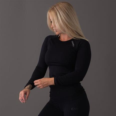 ICANIWILL ICIW Seamless Long sleeve, black