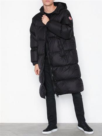 Colmar Long Maxi Down Jacket Takit Black