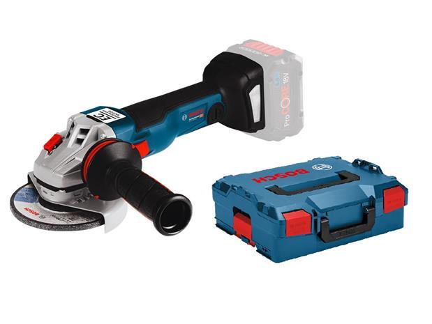 Bosch GWS 18V-10 C Professional L-BOXX (06019G310B) 18V, akkukulmahiomakone (ilman akkua ja laturia)