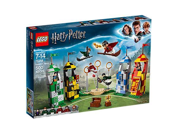 Lego Harry Potter 75956, huispausottelu (Quidditch Match)