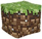 Minecraft Block Sitzkissen Koristetyyny vihreä-ruskea