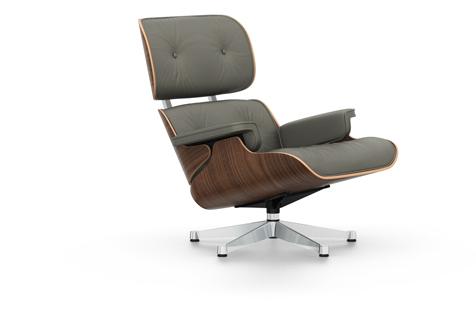 Vitra Eames Lounge Chair, nojatuoli, uusi koko