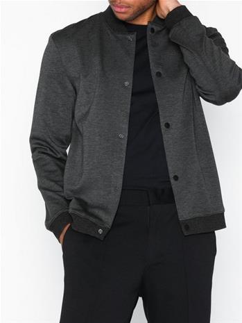 Selected Homme Slhmilo Sweat Jacket B Takit Grey