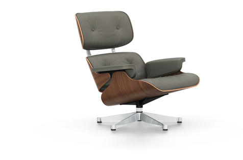 Vitra Eames Lounge Chair, nojatuoli, classic-koko