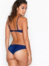 NLY Beach Brazilian Bikini Panty Tummansininen