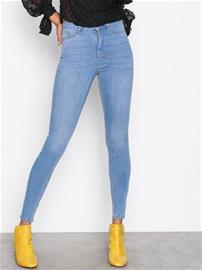 Gina Tricot Molly High Waist Jeans Mid Blue