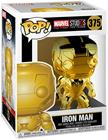 Funko POP! Marvel Studios 10 - Iron Man (Chrome) Vinyl Figure 10cm