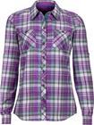 Marmot Lillian Naiset Pitkähihainen paita , harmaa/violetti