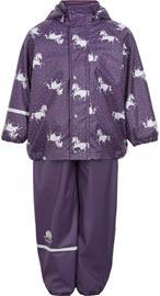 CeLaVi Fleecevuorillinen Sadeasu, Purple Plumeria 80