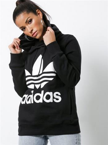 Adidas Originals Trefoil Hoodie Musta