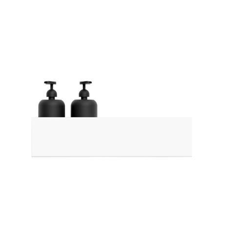 Nichba-Design, kylpyhuoneen hylly 40 cm