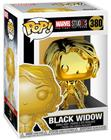Funko POP! Marvel Studios 10 - Black Widow (Chrome) Vinyl Figure 10cm