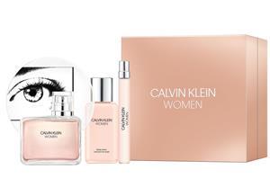 Calvin Klein - Women EDP 100 ml + Body Lotion 100 + EDP 10 ml - Giftset
