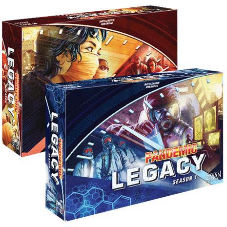 Pandemic Legacy - Season 1, lautapeli