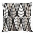 Arvidssons Textil Blader tyynynpäällinen punainen-vihreä-keltainen